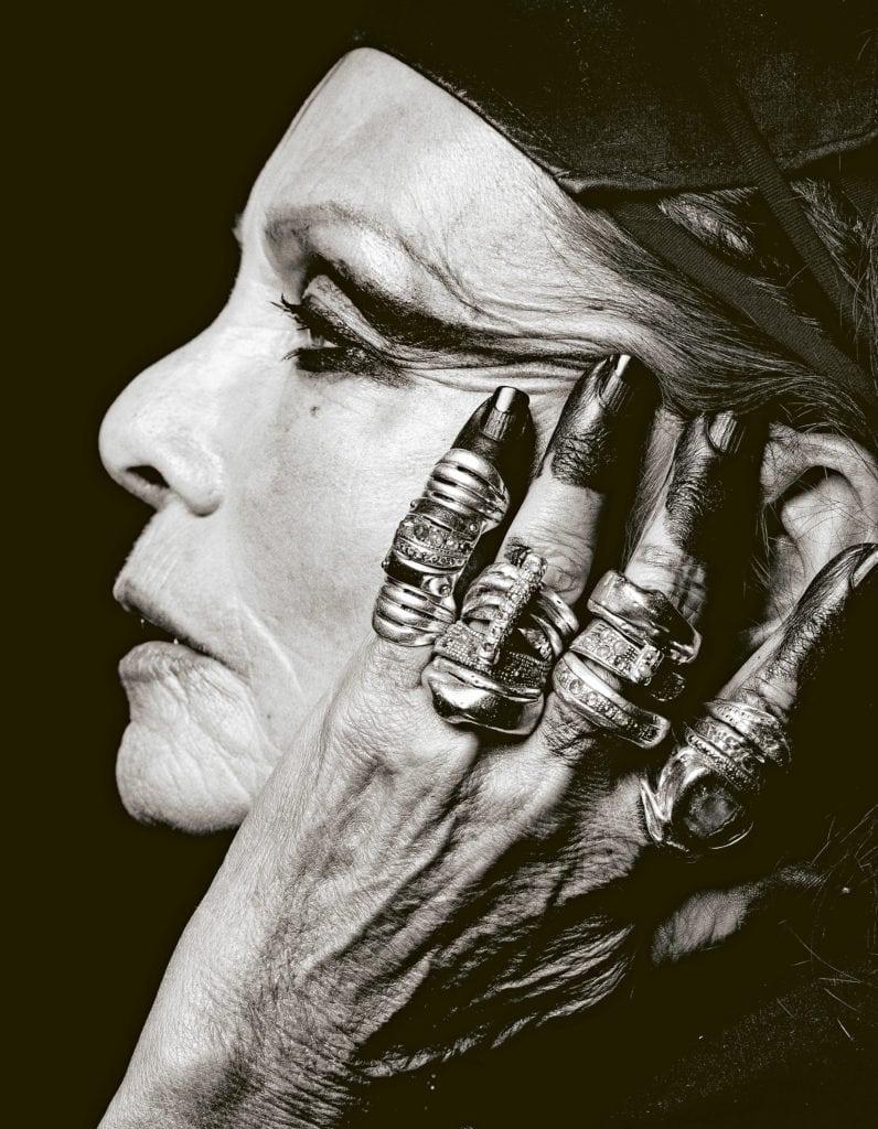 Styling: Gill Linton. Set Design: Déborah Sadoun. Hair & Makeup: Jean-Charles Perrier